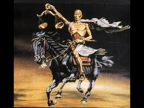The Rider of the Black Horse - Revelation Chapter 6 - Worldwide Economic Collapse on the way!