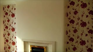 How to paper a feature wall. TIPS