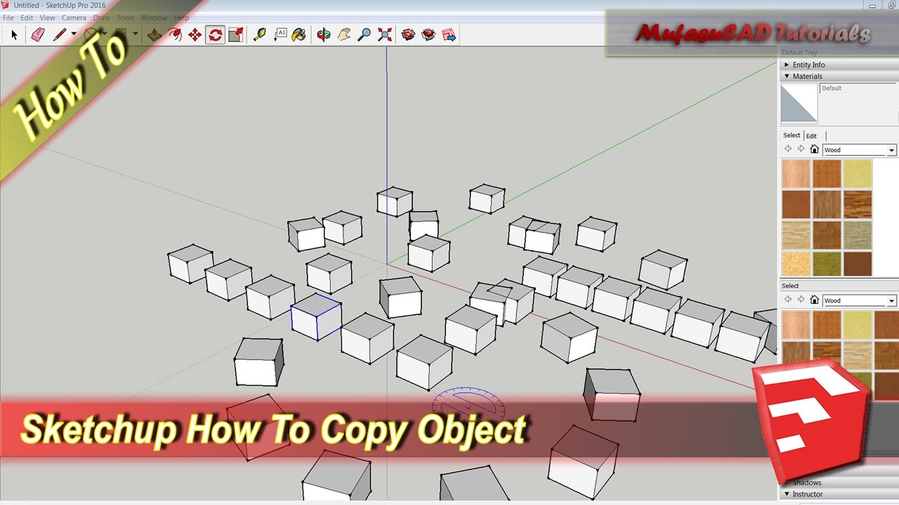 copy in place sketchup