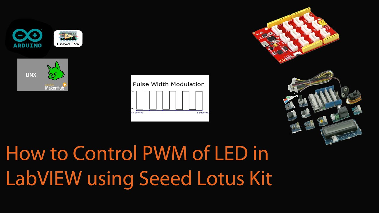 03 | Use PWM to Control an LED [LabVIEW MakerHub]