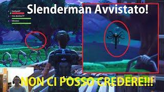 SLENDERMAN AVVISTATO NEL BOSCO BLATERANTE! - Fortnite