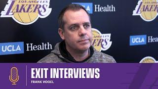 Frank Vogel | 2020-21 Lakers Exit Interviews