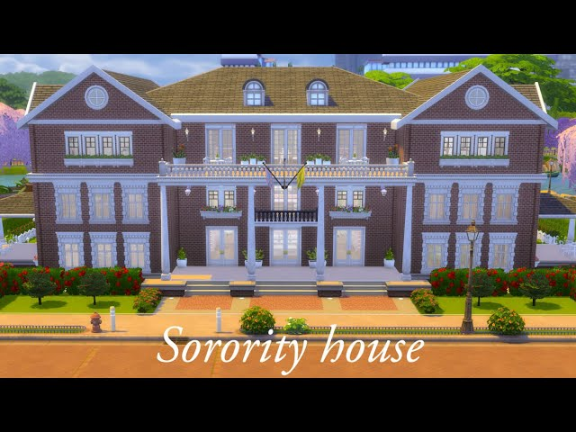 Sorority house | The Sims 4 - House Building |