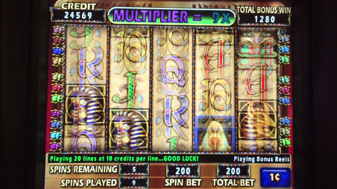 Grace of Cleopatra Slot Machine - Play Penny Slots Online