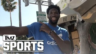 Joel Embiid's Message to Ladies, 'Taste the Process' | TMZ Sports