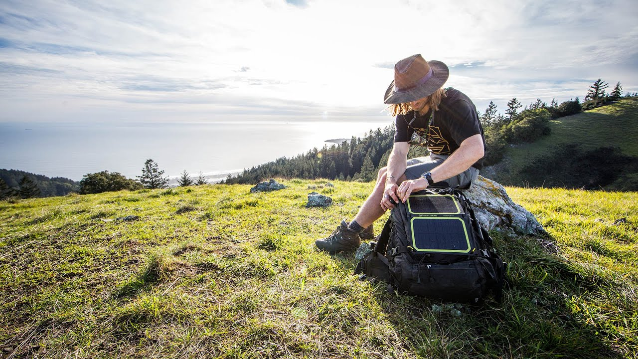 Nomad 7 Plus Solar Panel - YouTube