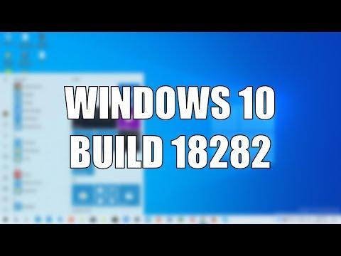 Windows 10 Build 18282 - New Light Theme, Wallpaper, Windows