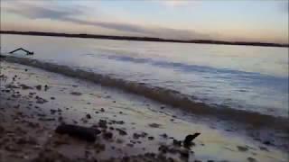 ASMR Ocean Waves @ Grapevine Lake *RELAX*