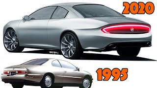 1995 Buick Riviera Re-design - What it would look like in 2020