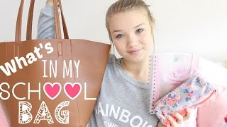 What's in my Schoolbag?! | Back to School #4