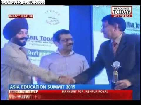 Asia Education Summit 2015 Part 1 Telecast on Headlines Today