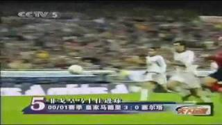 Luis Figo Dribbling Skills - Rare Footage