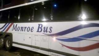 Monroe Bus 913 In NYC Near the Port Authority MCI