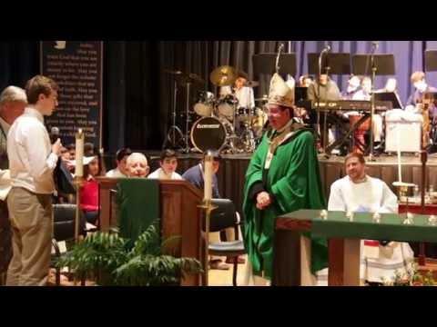 Abp. Vigneron Grants Shrine Schools a Day Off