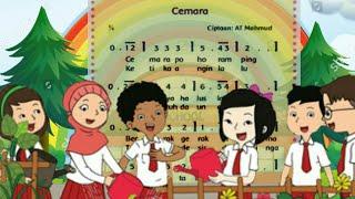 Lirik Lagu Cemara Ciptaan A.T. Mahmud || Tema 2 Kelas 3 Subtema 1