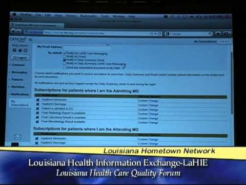 LaHIE Launched by Louisiana Health Care Quality Forum