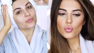 GRWM Natural Everyday Look | Hair, Makeup and Outfit