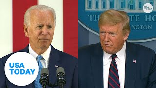 Biden criticizes President Trump's response during COVID-19 pandemic | USA TODAY