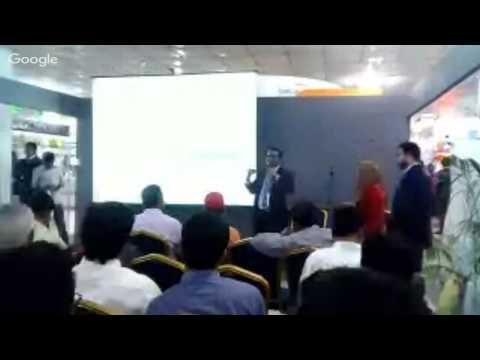 LankaBangla @ Capital Market Fair 2015 - Dr S K Bala + O Rahman + K Hossain + Capital Market Pres