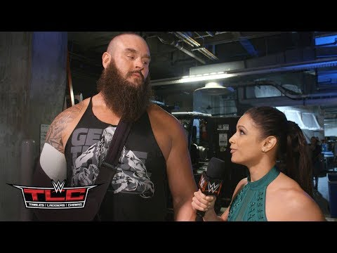 Braun Strowman wants Brock Lesnar at Royal Rumble: Exclusive, Dec. 16, 2018