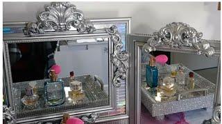 #Diy/#DollarTree/#Glam/#3sided/#Vanity/#Mirror/#Decoraciones