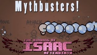 The Binding of Isaac Afterbirth | Playing With Stats | Mythbusters