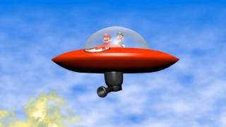 (C. E. Animasyon Stüdyoları Varyant)Visualock Studios Tampon - Mario Bölüm