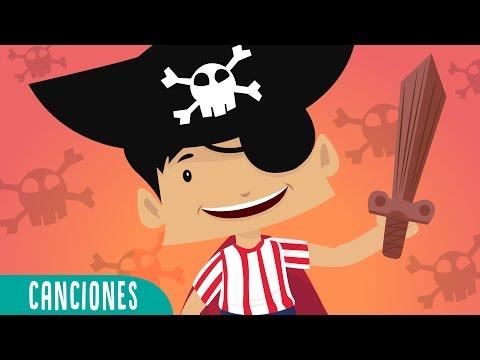 El Pirata Tapirote | Las canciones infantiles favoritas de Juana la Iguana| canciones preescolares