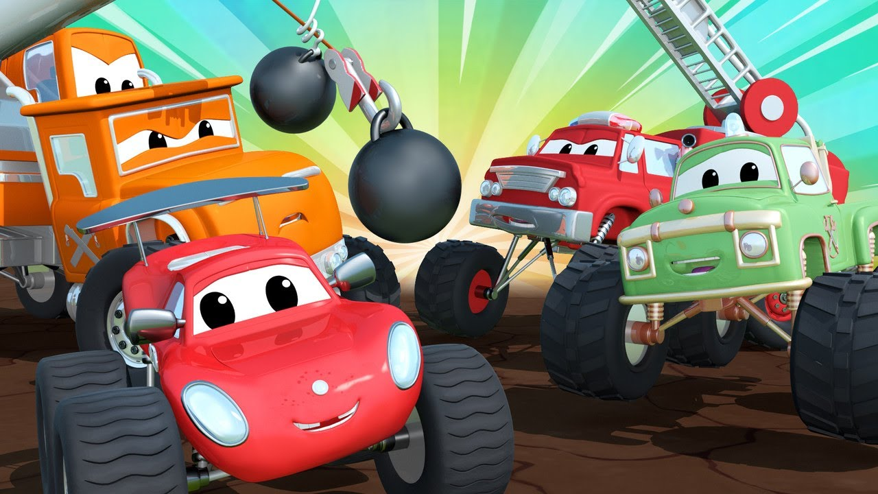 Juegos de Bolos | Maverick Ciudad Monstruo | Car City World App