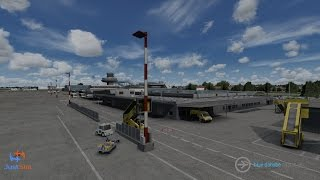 JUSTSIM - LINZ AUSTRIA BLUE DANUBE AIRPORT LOWL FSX