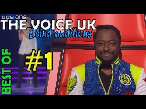 The Voice UK blind auditions BEST OF #1 - BBC One
