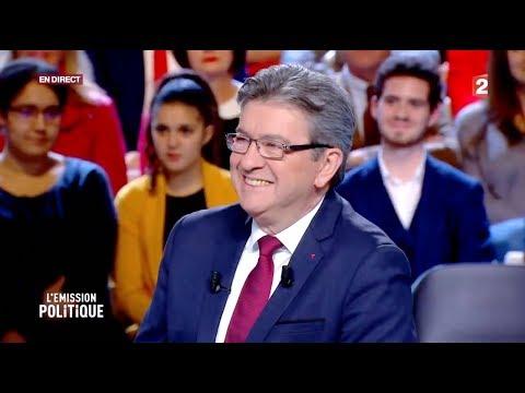 Jean-Luc Mélenchon à L'Émission politique le 30 novembre 2017