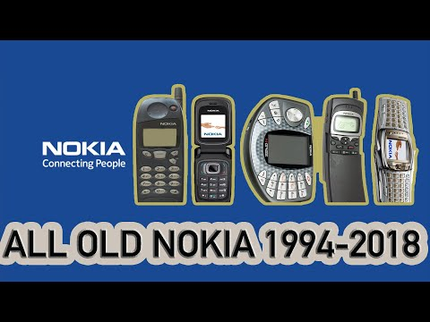Nokia History Old Phones To New (1994-2018) Best Mobile Phone Ever