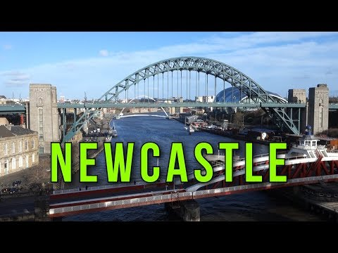 Places To Live In The UK - The City Of NEWCASTLE UPON TYNE , Tyne & Wear  NE1 ENGLAND