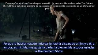 Cleanin' Out My Closet - Eminem Subtitulada en español