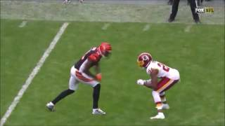 Josh Norman And AJ Green Week 8 Highlights Fights And Catches