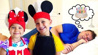 Download lagu Diana dan Roma mempersiapkan Kejutan untuk ulang tahun Ayah