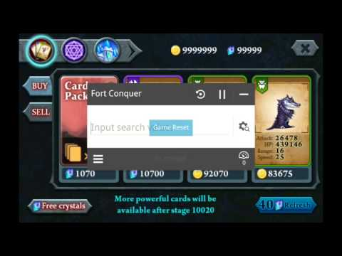 How to hack fort conquer