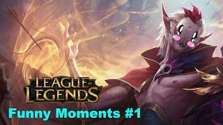 League of Legends Funny Moments#1 I Don't Know How To Play This