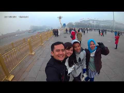 Dinginnya Tiananmen Square  Beijing.......brrrrrrrrrrr.. .brrrrrr...