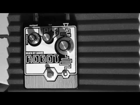 Electric Bass Thru Death By Audio ROBOT Arpeggiator Mode 試奏