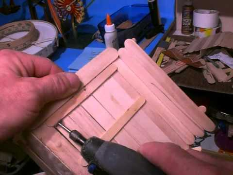 Craft Stick Sanding Tools & Dremel Cutting Example