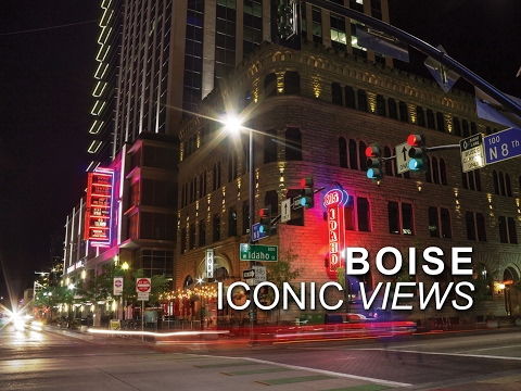 Boise Idaho Iconic Views