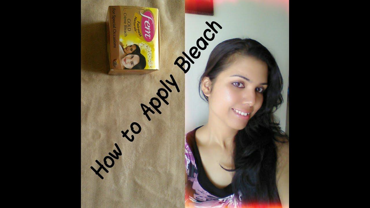 How To Apply Fem Gold Cream Bleach, 6 Easy Steps
