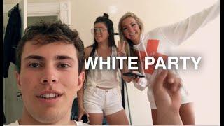 ALL WHITE PARTY: Boston University (vlog)