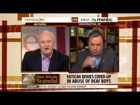 Christopher Hitchens - On Morning Joe discussing Catholic sex scandals