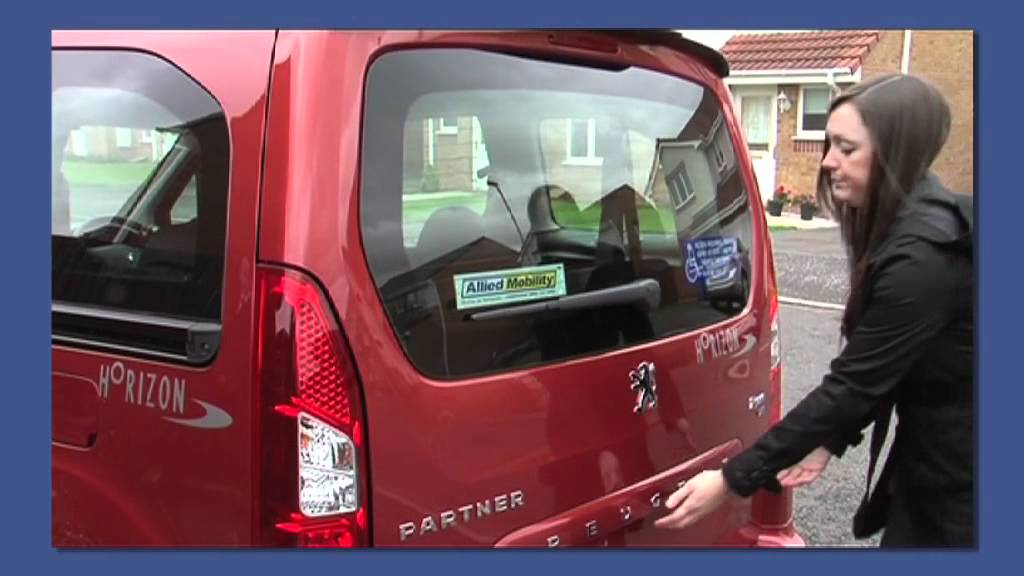 Peugeot Horizon - Wheelchair Accessible Vehicles - Great Features ...