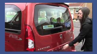 Peugeot Horizon - Wheelchair Accessible Vehicles - Great Features