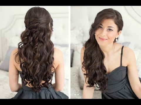 Prom Hairstyles For Long Hair Youtube