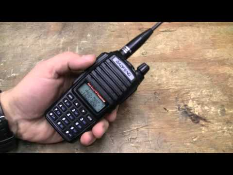 Baofeng Radio UV-82 Update & FM Radio Function